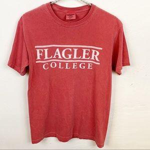 Flagler College Red Crewneck T-shirt